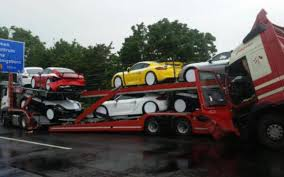 Truck Hauling Multiple Porsche Cayman GT4s Gets Rear-ended On ... Extreme Truck Driving Skill Oversize Hauling On The Most Street Race Inrrupted By Hauling A Dump Contracts Together With Paper Trailers As Well 5 Illustration Man Pickup Stock Ht30 Haul Topcon Positioning Systems Inc Heavy Specialized B Blair Cporation Transport Services For Aerospace Machinery Helicopters Heavyuckhngaustralia Dealers Australia Equipment Abel Brothers Towing Relive History Of These 6 Classic Chevy Pickups Multi Axle Trucks And Lift Axles