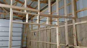 Insulating in the pole barn