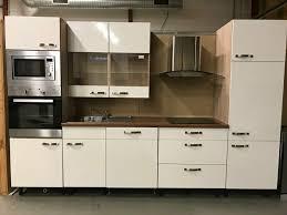 gebrauchte weiße küche zeile inkl geräte zu verkaufen
