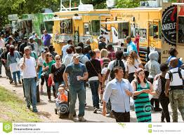 100 Food Trucks In Atlanta People Buy Meals From Wide Selection Of