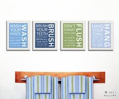 Blue And Brown Bathroom Wall Decor by Bathroom Bathroom Comely Image Of Unisex Kid Bathroom Decoration