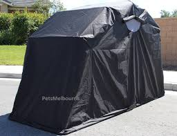 Premium Motorcycle Tent Shelter Waterproof Lockable Cover