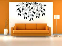 Simple Wall Paintings Painting Designs For Living Room Modern Home Interior Design Ideas