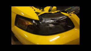 how to remove a headlight 1999 2004 ford mustang