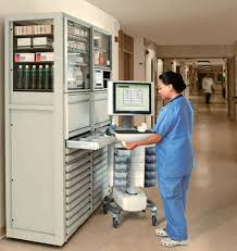 medicine automated dispensing cart savvy omnicell