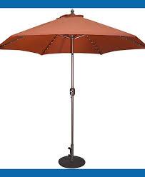 solar lighted offset patio umbrella nucleus home