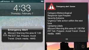 Blizzard Wireless Emergency Alerts Why ly Some People Got Them