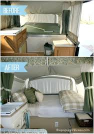 Pop Up Camper Remodel The Big Reveal