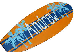 Decorative Surfboard Wall Art by Amazon Com Custom Beach Signs Personalized 36 Inch Surfboard