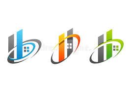 logo chambre la chambre les immobiliers le bâtiment la maison le logo le