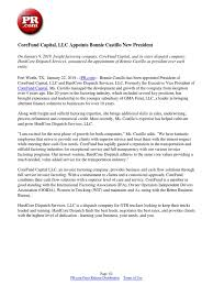 100 Factoring Companies For Trucking CoreFund Capital LLC Appoints Bonnie Castillo New President