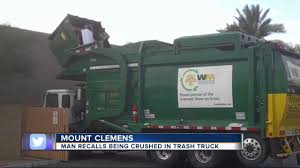 Man Recalls Being Crushed In Trash Truck - YouTube