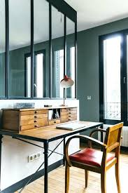 bureau stylé bureau style industriel en metal et bois bureau style industriel en