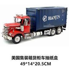 100 Paper Truck Hot Classic Transformation Container Model Creative Box