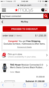 Tag Heuer Connected At Macys - Slickdeals.net