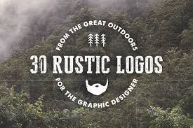 30 Rustic Hand Drawn Logos