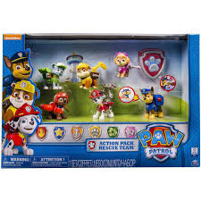 Bath Gift Sets At Walmart by Paw Patrol Action Pup 6 Pack Walmart Exclusive Walmart Com