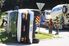 100 Iowa 80 Truck Wash Van Rolls In Collision With Cement Truck Local News Wcfcouriercom