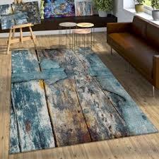 teppich in türkis grau