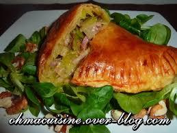cuisiner le poireaux feuilletés reblochon poireaux cuisine plurielles fr