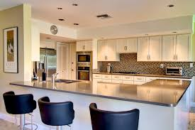 KITCHEN IDEASSimple And Sober U Shaped Kitchen Design Evergreen Luxury Decor