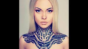Front Neck Tattoos Tumblr