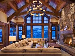 Rustic Interior Design And Architecture In The United States Was Influenced By American Craftsman Style Popularity Of