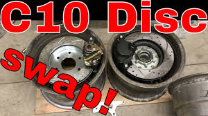 100 68 Chevy Truck Parts C10 4 Wheel Disc Brake Conversion Parts YouTube