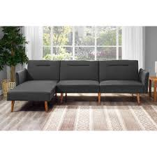 Poundex Bobkona Sectional Sofaottoman by Sectional Sofas Walmart Com