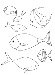 Spectacular Design Fish Printable Coloring Pages 11