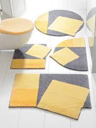 badgarnitur gelb material polyacryl grund