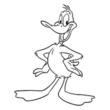 Top 10 Daffy Duck Coloring Pages For Kids