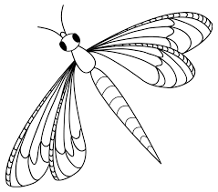 Dragonflies Easy Dragonfly Coloring Pages For Adults