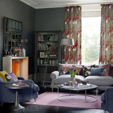 Grey And Purple Living Room Ideas by Grey Living Room Ideas Ideal Home