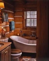 Log Cabin Bathrooms Rustic Bathroom And Decor Living Room Decorating Ideas