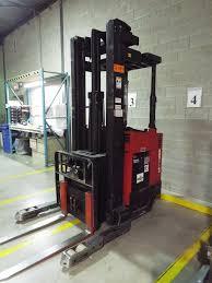 100 Raymond Reach Truck RAYMOND EASI ELECTRIC REACH TRUCK WITH 3000 LBS CAPACITY 204quot