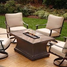 Agio Patio Furniture Cushions by Furniture Black Wrought Iron Agio Patio Furniture With Beige