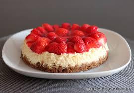 kleine sünde erdbeer frischkäse torte schöner tag noch