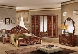 italienisches schlafzimmer rokko luxus 6 tlg bett komplett