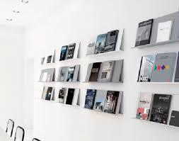 Wall Mounted Brochure Display Rack ARCHIVIO VIVO Danese