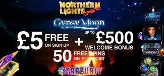 Northern Lights Casino Bonus codes