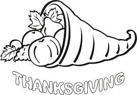Thanksgiving Colouring Pages For Kids