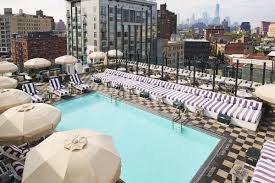 The Rooftop Pool At Soho House New York Photo