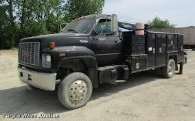 100 1996 Gmc Truck GMC TopKick Service Truck With Crane Item DD8450 SO