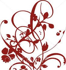 Red Flower Clipart Corner 1