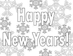 New Years Eve Coloring Page