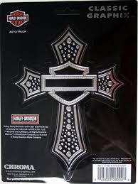 Harley Davidson Motorcycle HD Decal Sticker Chrome Cross Logo Emblem ... Unique Harley Davidson Decals For Golf Carts Northstarpilatescom Saddle Bag On A Motorbike With Sticker Saying Hog Vinyl Flame Wrap Flame Decals Are The Gas Tank Stamped In Or That Gets Ford Harleydavidson F150 Motor1com Photos Auto Trim Design Lightning And Graphic Wrap Kit 1991 Amazoncom Logo Cutz Rear Window Decal Whosale Now Available At Central Items 1 40 Die Script High Quality White Bling Full Color Wall 8 X 10 Sticker