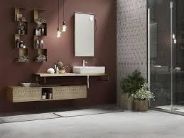 wandmontierter spiegel für badezimmer decor vintage