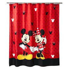 sold cute font mickey mouse glass wall minnie bathroom towel set
