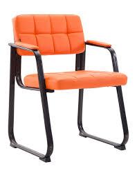polsterstuhl kunstleder orange esszimmerstuhl stuhl stühle 44855481 expendio